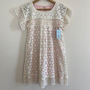 Cat & Jack Crochet Lace Dress